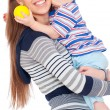 Royalty-Free Stock Photo: Happy mother and son