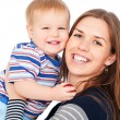 Happy mother and son — Stock Photo #5181791