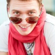Smiley guy in sunglasses — Stock Photo #5182862