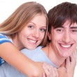 Happy beautiful couple — Stock Photo #5329544