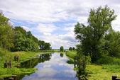 Die Trebel bei Nehringen, Mecklenburg-Vorpommern — Стоковое фото