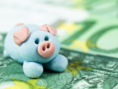 Pig as Lucky Charm — Stock Photo