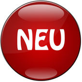 Button Neu — Stock Photo