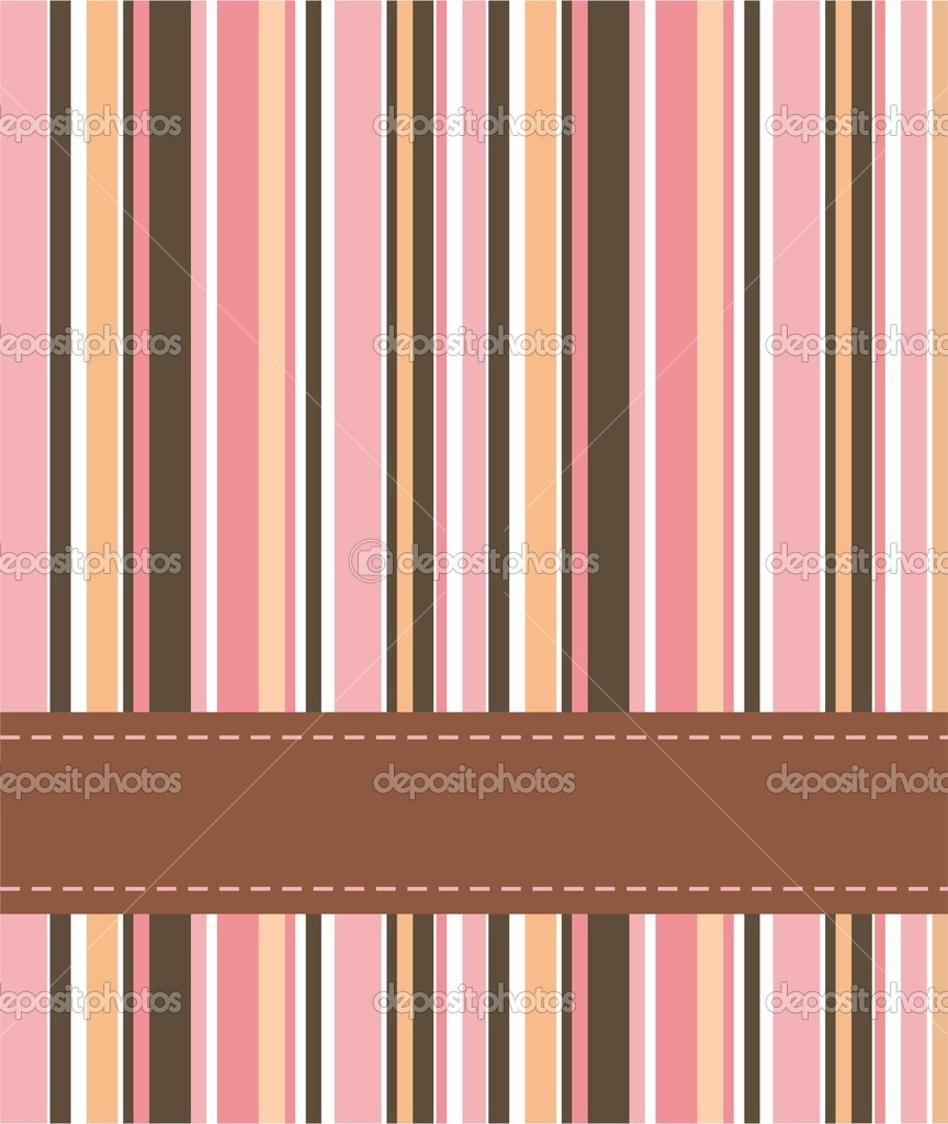 Vertical striped abstract background. Vector — Stock Vector #5235752