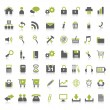 Royalty-Free Stock Vectorielle: Web Icons