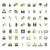 Web simgeler — Stok Vektör