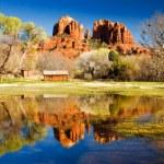 Cathedral Rock in Sedona, Arizona — Stock Photo #4935027
