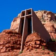 The Chapel of the Holy Cross, Sedona, Arizona - Stock Photo