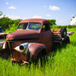 Old Red Farm Truck — Stock Photo #5003176