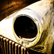 Old Truck Headlight — Stock Photo