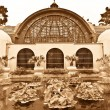 Botanical Building at Balboa Park — Stock Photo