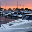 Sunset on the San Diego Harbor — Foto Stock