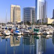 San Diego City Skyline — Stock Photo