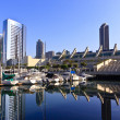 San Diego City Skyline — Foto de Stock