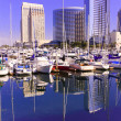 Stock Photo: San Diego City Skyline