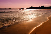 Sunset on Pacific Ocean in California — Stock Photo