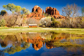 Cathedral Rock in Sedona, Arizona — Stock Photo