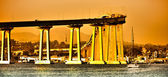 San Diego - Coronado Bridge — Stock Photo