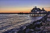 Sunset on the San Diego Harbor — Stock Photo
