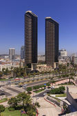 San Diego City Skyline — Stock Photo