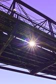 Onder de brug — Stockfoto