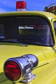 Gamla gula brandbil — Stockfoto