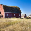 Stock Photo: Old Red Barn