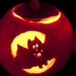 Carved Pumpkin — Stock Photo