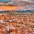 Sunset Point at Bryce Canyon — Stock Photo