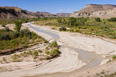 Muddy Waters of the Paria River — Stock Photo