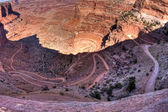 Shafer trail weg — Stockfoto