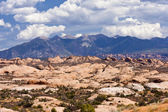 Arches National Park's Sand Dunes — Stock Photo