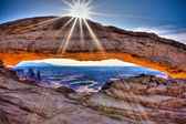Mesa Arch at Canyonlands — Stock Photo