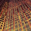Orange and Red Skyscraper — Stock Photo