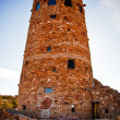 Stock Photo: The Watchtower at the Grand Canyon