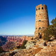 The Watchtower at the Grand Canyon - Stock Photo