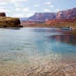 Colorado River at Lees Ferry Crossing — Stock Photo #5132444