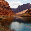 Colorado River at Lees Ferry Crossing — Stock Photo