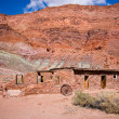 Lee's Ferry Fort, Lee's Ferry, Glen Canyon National Recreation Ar — Stockfoto