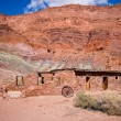 Lee's Ferry Fort, Lee's Ferry, Glen Canyon National Recreation Ar — Стоковая фотография