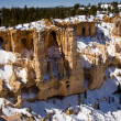 Winter in Bryce Canyon National Park — Stock Photo