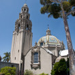 Famous  tower at Balboa Park — Stock Photo