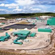Stock Photo: Uranium Mine Site in Northern Canada