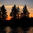Northern CanadiSunset — Foto de stock #5136399