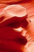 The famous Antelope Canyon in Arizona, USA — Stock Photo