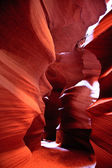 Patterns of Nature in Upper Antelope Canyon, Arizona — Stock Photo