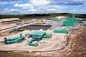 Uranium Mine Site in Northern Canada — Stock Photo