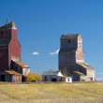 Lepine Grain Elevators — Stock Photo #5157558