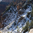 Bright Angel Trail — Stock Photo