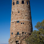 Grand Canyon Desert View Watchtower — Stock Photo